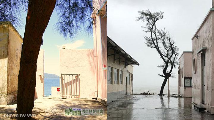 山竹颱風無情摧毀星爺《喜劇之王》熱門景點